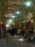 Bazaar in Mashad. Shopping at the bazaar in Mashad, Iran Royalty Free Stock Photos