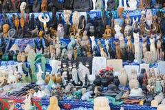 Bazaar at Nubia Egypt. Egypt, Aswan, Antiques Bazaar of Nubia Egypt Royalty Free Stock Image