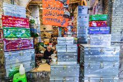Bazaar in Shiraz Stock Photography