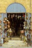 Bazaar Shop Selling Metal Work Stock Image