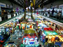 Bazaar shops in greenhills shopping center. Bazaar shops ready for christmas sale in greenhills shopping center in san juan city, philippines, asia stock photography