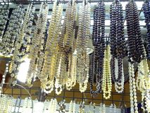 Bazaar shops in greenhills shopping center in san juan, philippines. Bazaar shops selling pearl jewelry ready for christmas sale in greenhills shopping center in Stock Image