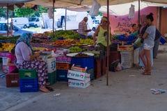 Bazaar in Side. Turkey Stock Images