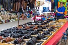 Bazaar in Side. Turkey Stock Image