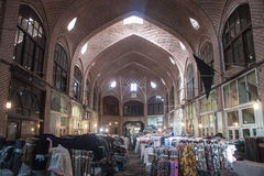 Bazaar in Tabriz. In Iran royalty free stock photo