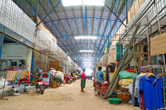 Bazaar in thailand. Sell goods second hand within  the area Rong-Kluea market, located at the border of Thailand and Cambodia. Located in  Aranyaprathet district Stock Photography