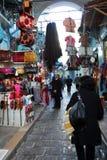 The bazaar in Tunisia. View of bazaar in Tunisia. It is an historical bazaar Stock Photography