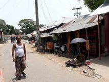 Bazaar. Villaze hat Bazaar in Narail Bangladesh Stock Photos