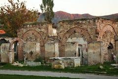Bazaarmoskee (Charshi-Moskee) in Prilep macedonië stock foto