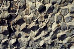 Bazalt kamienne kolumny zdjęcia royalty free