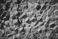 Bazalt kamienne kolumny obrazy royalty free