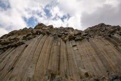 Bazalt skała w górach Rumunia, natury zamknięty up obraz stock