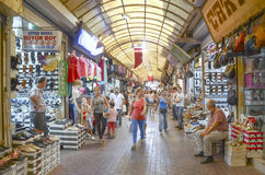 Bazar à Antioche, Turquie Photographie stock libre de droits