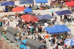 Bazar ao ar livre Fotografia de Stock