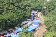 Bazar ao ar livre Imagem de Stock Royalty Free