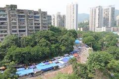 Bazar ao ar livre Foto de Stock Royalty Free