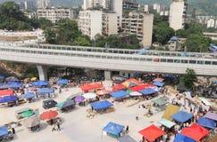 Bazar ao ar livre Foto de Stock