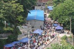 Bazar ao ar livre Imagens de Stock Royalty Free