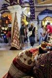 Bazar a Costantinopoli, Turchia Fotografia Stock