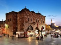 Bazar da especiaria de Istambul fotografia de stock royalty free