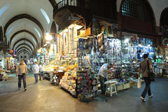 Bazar da especiaria em Istambul Fotos de Stock