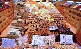 Bazar da especiaria - Istambul Imagem de Stock Royalty Free