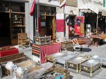 Bazar de Doha Foto de archivo libre de regalías