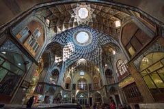Bazar de Kashan, em Irã Foto de Stock Royalty Free