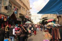 Bazar de la calle en Belén foto de archivo libre de regalías