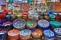 Bazar de la especia en Estambul fotos de archivo