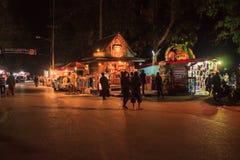 Bazar de la noche Foto de archivo