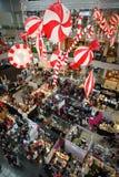 Bazar de Noël Image libre de droits