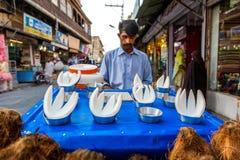 Bazar de Rawalpindi, Pakistan Images libres de droits