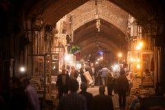 Bazar de Tabriz, Iran Fotografia Stock