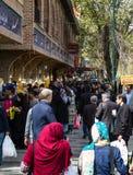 Bazar de Teherán durante el Año Nuevo 2017 irán Fotos de archivo