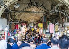 Bazar de Teherán durante el Año Nuevo 2017 irán Fotografía de archivo