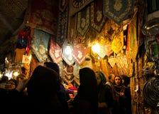 Bazar de Theran, Irán Imagenes de archivo