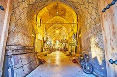 Bazar de Vakil, Shiraz, Irã Imagens de Stock Royalty Free