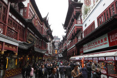 Bazar de Yuyuan, Changhaï Image libre de droits