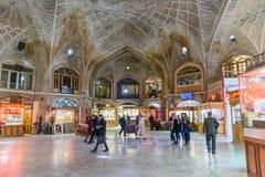 Bazar dell'oro o di Amir Bazaar a Tabriz Provincia orientale dell'Azerbaigian l'iran immagine stock libera da diritti