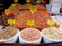 Bazar della spezia, Costantinopoli Fotografia Stock