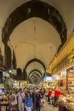 Bazar della spezia, Costantinopoli, Turchia fotografia stock libera da diritti