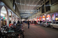 Bazar di Ahvaz Fotografie Stock