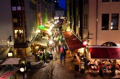 Bazar di Dresda immagini stock