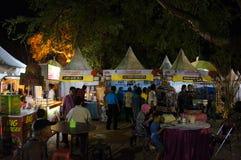 Bazar di notte immagine stock