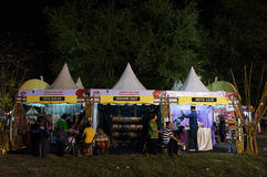 Bazar di notte Immagine Stock Libera da Diritti