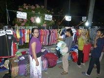 Bazar di notte immagini stock