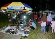 Bazar di notte Fotografia Stock Libera da Diritti