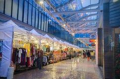 Bazar di notte di Natale Fotografia Stock