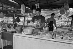 Bazar di Ramadhan, Kuala Lumpur, Malesia fotografia stock libera da diritti
